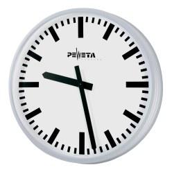 Peweta® Großraum-Wanduhr ø 52 cm, Netzbetrieb