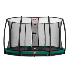 "Berg ""Champion"" InGround Trampoline with Deluxe Safety Net Trampoline"
