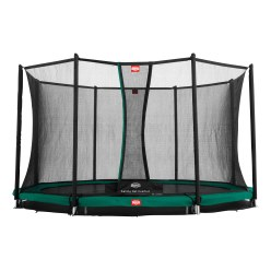 "Berg Trampolin InGround ""Champion"" mit Sicherheitsnetz Comfort"