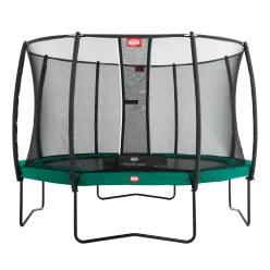 "Berg ""Champion"" with Deluxe Safety Net Trampoline"
