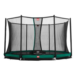 "Berg ""Favorit"" InGround Trampoline with Comfort Safety Net"