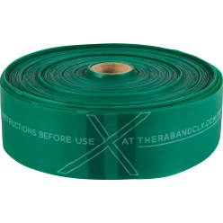 TheraBand® CLX™ Band, 22 m Roll Black, super-high