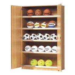 Sports equipment cabinet