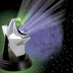 Laser nattehimmel projektor