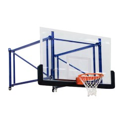 Basketbold-vægmontage drejelig og højdeindstillelig