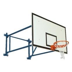 Sport-Thieme basketball-væganlæg, fast
