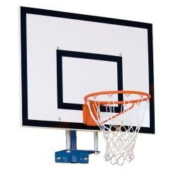 Sport-Thieme Basketball-vægstativ, fast