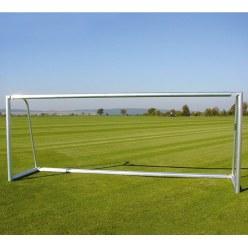 Alu-Jugendfußballtor, 5x2 m, teilverschweißt, mit Bodenrahmen