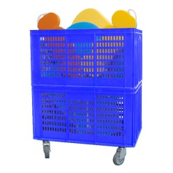 Mobile Storage Basket