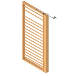 Sport-Thieme® Fold-Out Wall Bars