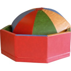 Ball Pit and Giant Disc Soft-Play Set