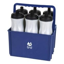 Flaschenträger mit 6 Trinkflaschen