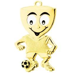 Kinder-Medaille Fußball, 45x65 mm