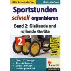 """Buch """"Sportstunden schnell organisieren"""""""