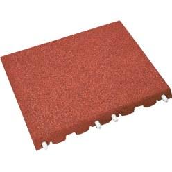Euroflex® Fallschutzplatte Rot 40 mm
