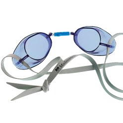 Original Swedish Malmsten Goggles, Standard Blue