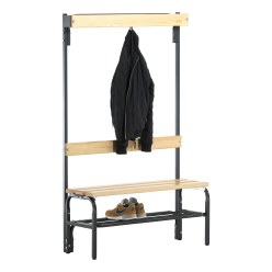 Sypro Wolf Dry Area Changing Bench with Backrest