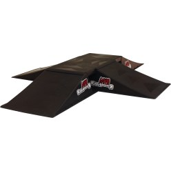 """Mini 4way"" Skateboard Ramp"