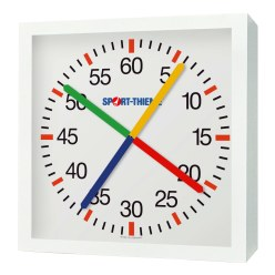 with Crossed Second Hands Training Clock