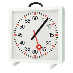 with Minute and Second Hands Training Clock