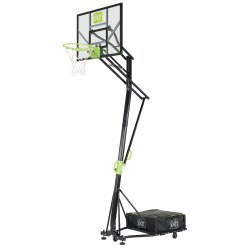 """EXIT Galaxy Portable Basket"" Basketball Unit with Dunkable Hoop"