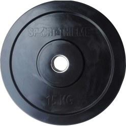 Sport-Thieme® Bumper Plate, schwarz