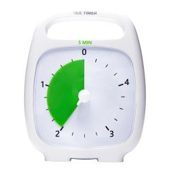 "Time Timer ""Plus"" 120 minutes, White"