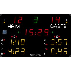Stramatel® Eishockey-Anzeigetafel