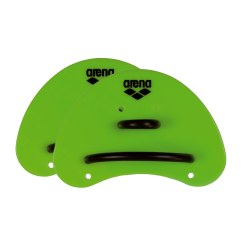 Arena® Elite Finger Paddles Acid lime/Black