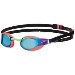 Speedo® Schwimmbrille Fastskin3 Elite Goggle Mirror Orange/Green