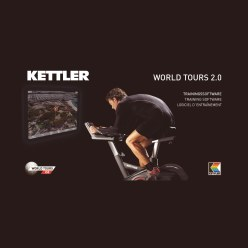 "Kettler® Trainingssoftware ""World Tours 2.0"""
