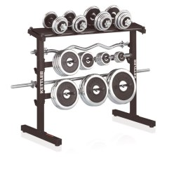 Kettler® Model 2012 Dumbbell and Weight Disc Rack