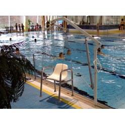 Hängender fester Sitz für Standard-Schwimmbadlifter