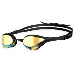 "Arena® Schwimmbrille ""Cobra Ultra Mirror"" Yellow Revo/Black"