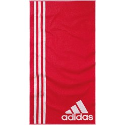 Adidas® Badetuch Red/White