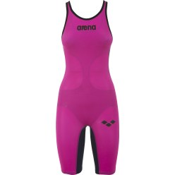 "Arena® Legsuit ""Powerskin Carbon Air"" Fuchsia-Titanium Blue"