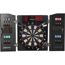 "Kings Dart ""Pro"" Electronic Dartboard Cabinet"