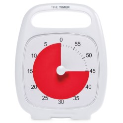"Time Timer® ""Plus"" 5 Minuten, Weiß"