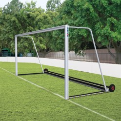 "Sport-Thieme® Fully Welded, ""Safety"" Full-Size Football Goal with PlayersProtect"