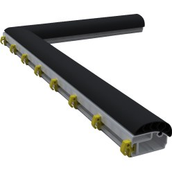 Folding Ground Frame with PlayersProtect for Youth Football Goals