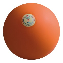 Trial Shot Put 3 kg, orange