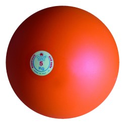 Trial Shot Put 5.5 kg, light blue