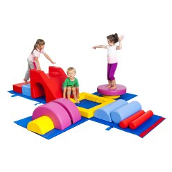 Softplay Gymnastik-Box Kids