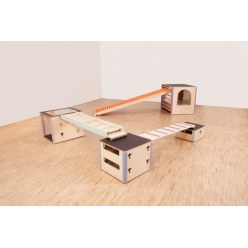 "Cube Sports® U3 ""Set IV"" Exercise Area"