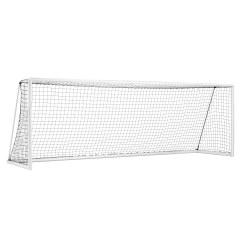 """Sport-Thieme® Großfeld-Fußballtor """"Kompakt Plus"""", Weiß einbrennlackiert, transportabel"""