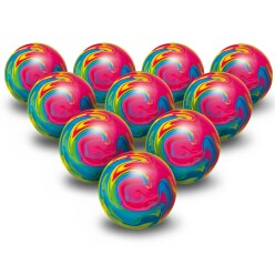 Togu® Set of 10 Colourful Balls