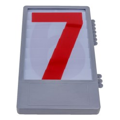 Trenas Number Box for Manual Scoreboards