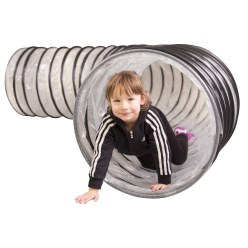 "Spiral-Kriechtunnel ""Flex"" Transparent, 4 m"