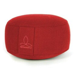 """Rondo"" Cushion Bordeaux, ø 35 cm, H: 18 cm"