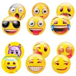 Emoji® Kunststoffbälle